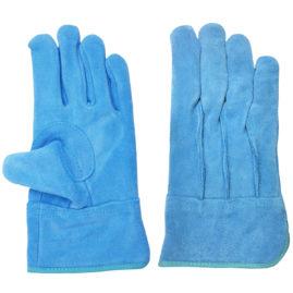 現場系女子 外縫い 内綿 ブルー AG2554