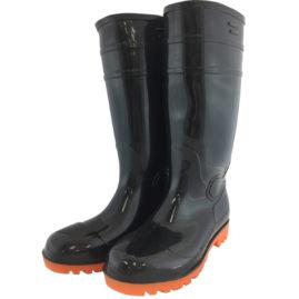 WS3001B 耐油安全長靴 黒