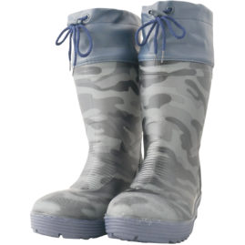 WS3850 フード付ショート安全長靴