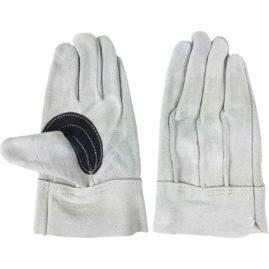 牛床革 カワテ外縫い 黒アテ付 AG3010