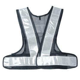 安全ベスト 女性用フリーサイズ 紺×銀 WS2702