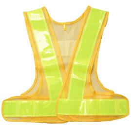 安全ベスト 女性用フリーサイズ 黃×黃 WS2703